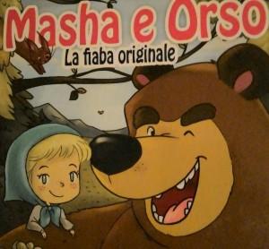 Copertina del libro Masha e Orso
