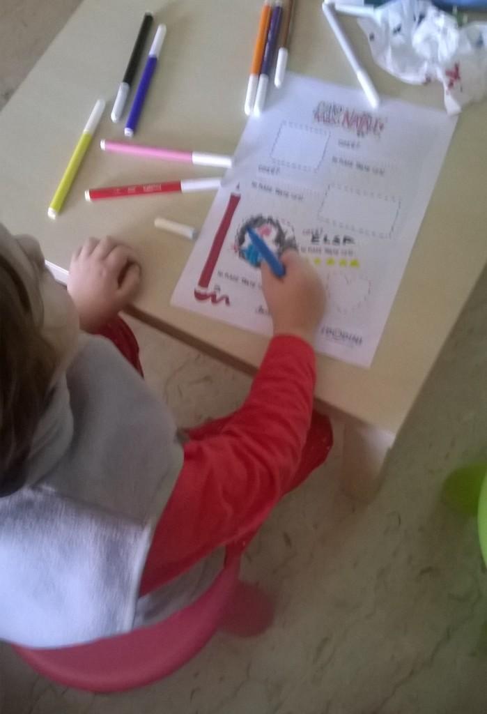 Making of... la lettera per Babbo Natale