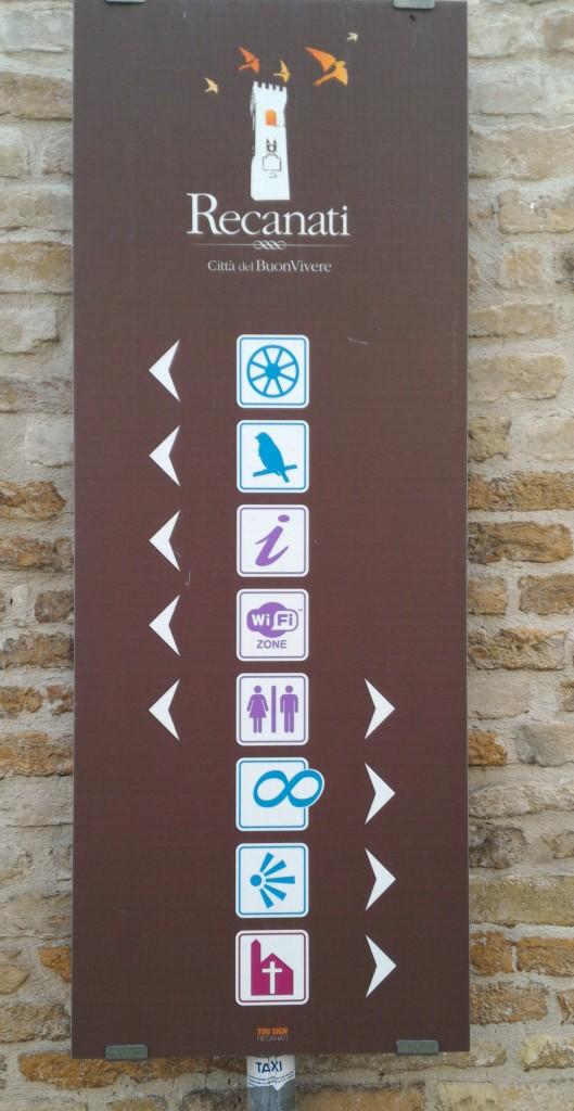 Indicazioni turistiche
