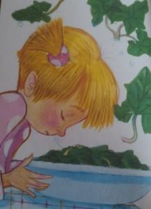 Matilde e il piatto di spinaci