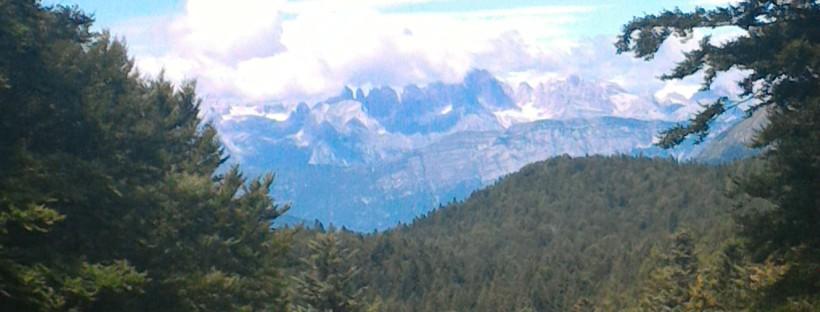 montagna destate