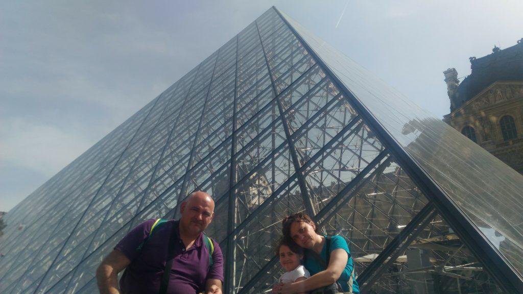 Parigi in un giorno - Piramide Louvre