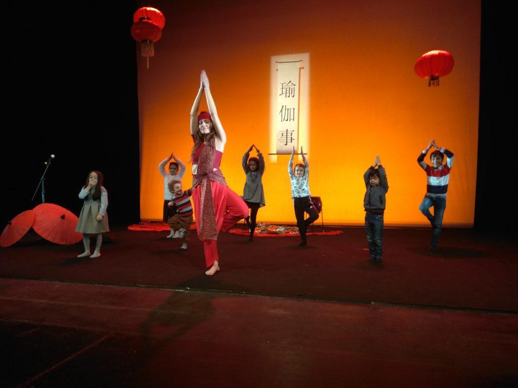 yoga tales al teatro vascello