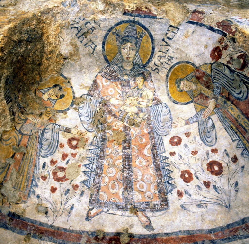 Cripta peccato originale Matera